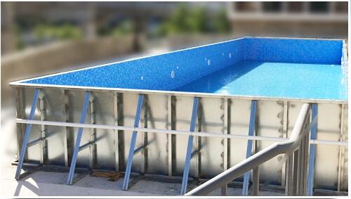 法国戴高乐拼装整体泳池