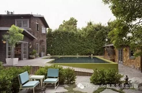 可以游泳的后花园,8个给力的别墅花园泳池设计!