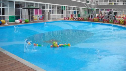 广州雅居乐剑桥郡幼儿园泳池工程