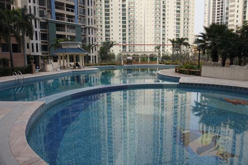 清远龙汇·岭峰房地产小区泳池工程