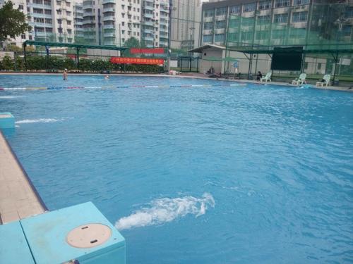广州龙烨体育中心泳池工程