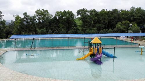 湖南冷水江波月洞景区商用泳池工程