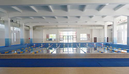 广州金沙洲华侨中学恒温泳池工程