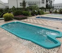 法国戴高乐整体泳池DGL-1008浪涛系列