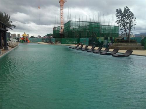 惠州大亚湾锦地繁花骏园FX24泳池工程