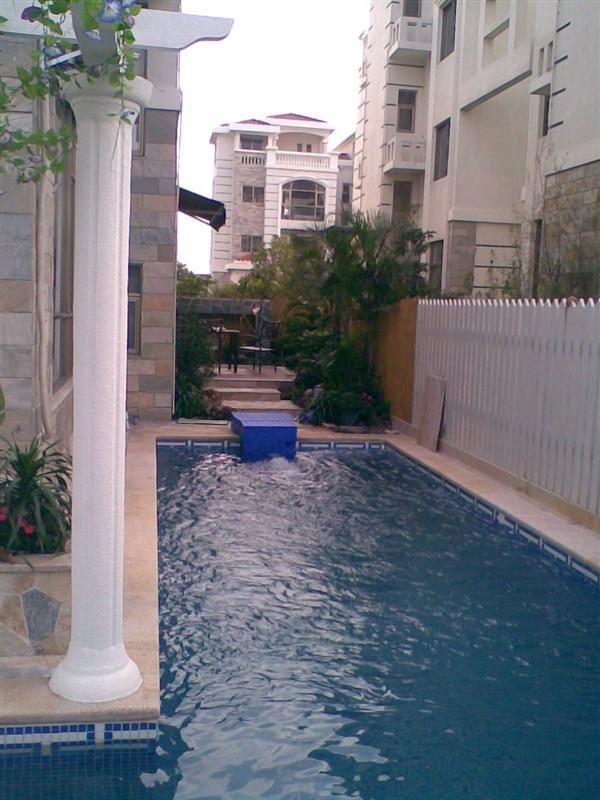 佛山香格里拉花园DF35私家别墅泳池工程