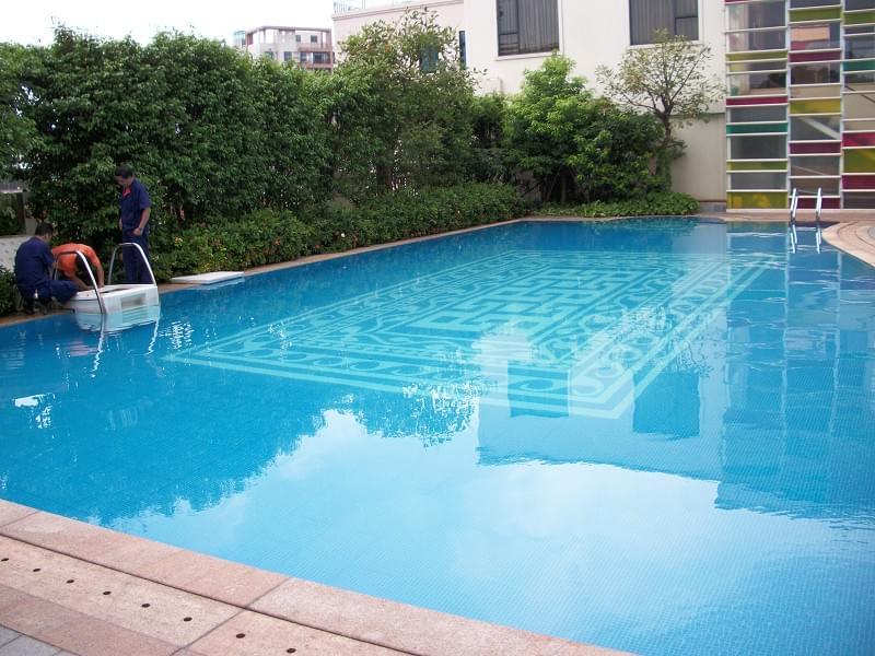 佛山顺德新君悦酒店FX25天面泳池工程