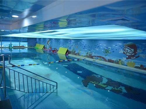 天津沐奇亲子游泳馆恒温泳池工程