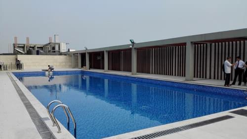 广东珠江纺织博览城酒店泳池工程