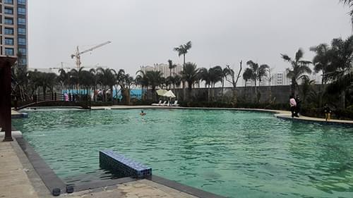 海南东方明珠S350一体化泳池工程