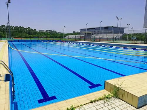 东莞职业技术学院标准泳池工程