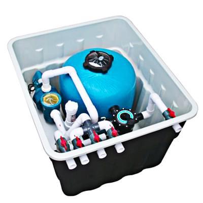 法国戴高乐FX24/30地埋式泳池一体机