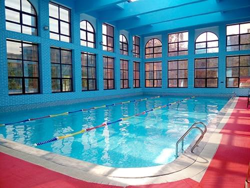 湖北宜昌798健身俱乐部室内恒温泳池工程