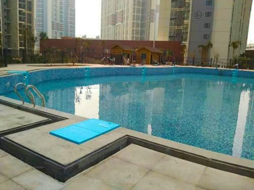 深圳观澜湖S350/DF10房地产小区泳池工程