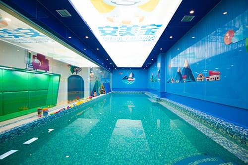 山东青岛安美宝国际亲子恒温游泳馆泳池工程