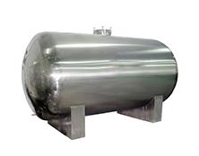 不锈钢大型卧式砂缸