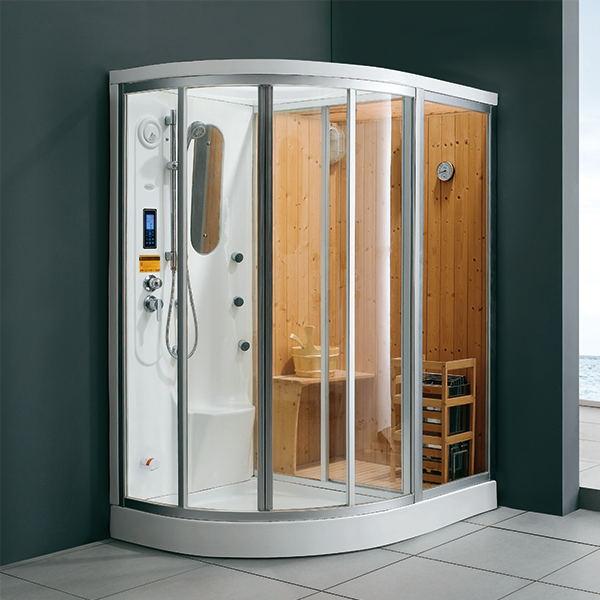 干湿蒸连体淋浴蒸汽房 M-8269