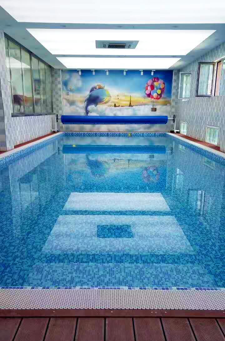乌鲁木齐奥唯亲子游泳馆钢结构泳池