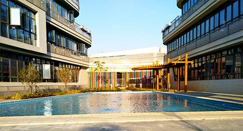 广州市番禺残疾人康复基地泳池工程