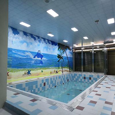 湖南永州花样年华幼儿园恒温泳池工程