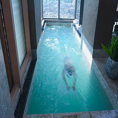 广州佳兆业高层复式层流推进器泳池工程