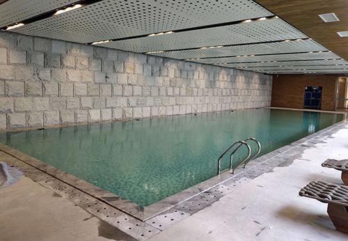 江西赣州兴国嘉福星洲房地产恒温泳池项目工程