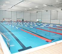 肇庆西江体育钢结构恒温泳池工程
