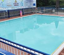 汕头潮阳城南游泳馆钢结构泳池工程
