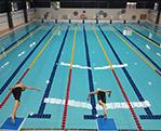 惠州博罗康恒体育拆装式钢结构恒温泳池工程