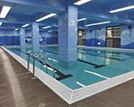 广州天河乐游四季室内PVC拆装式恒温泳池工程
