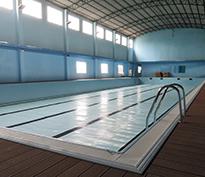 江门开平悦动体育文化拆装式恒温泳池工程